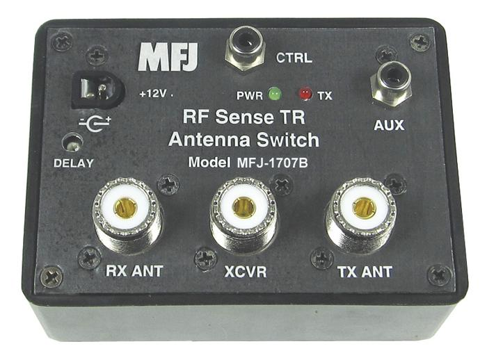 MFJ-1707B - AUTOMATIC RF SENSE ANTENNA SWITCH