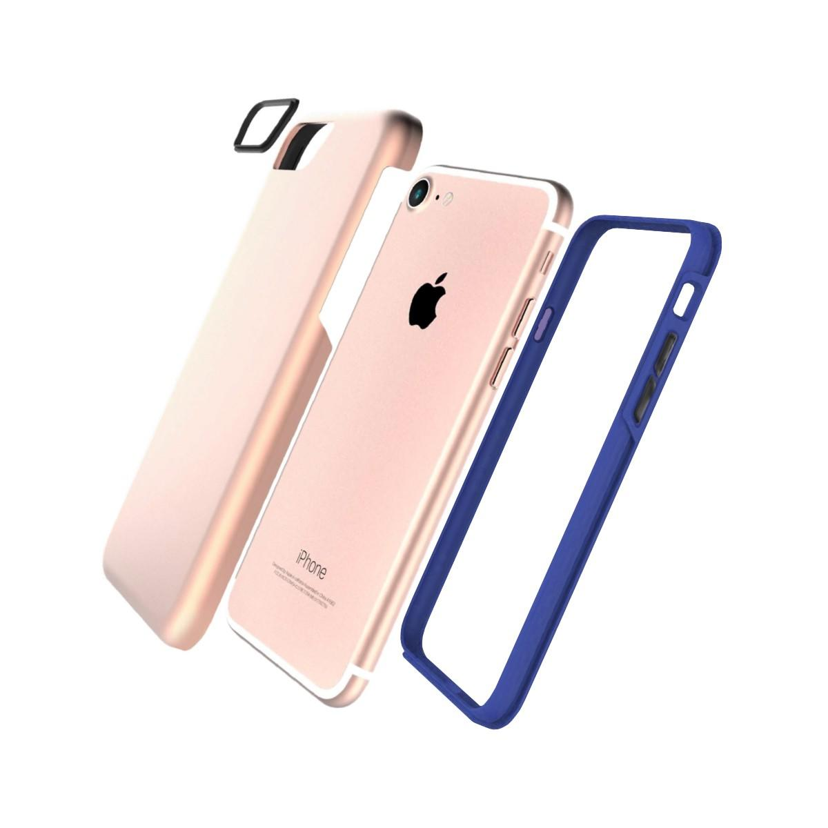 Jivo Combo Tough Case for iPhone 7 Rose Gold