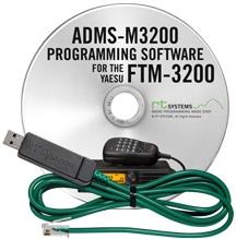 ADMS-M3200 Programming Software and USB-29F for the Yaesu FTM-32