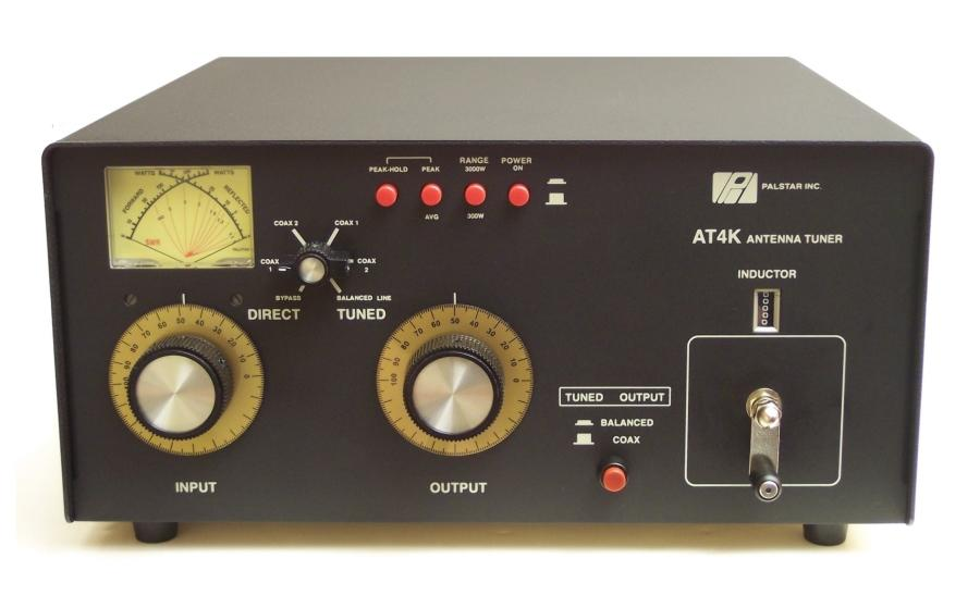 Palstar AT-4K 2500 Watt Manual Antenna Tuner