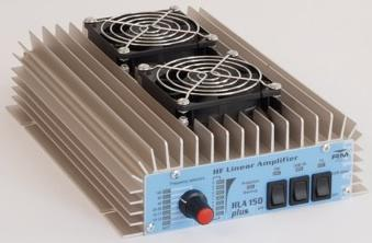 RM HLA 150V Plus 1.8-30Mhz 150W HF Amplifier with Fans