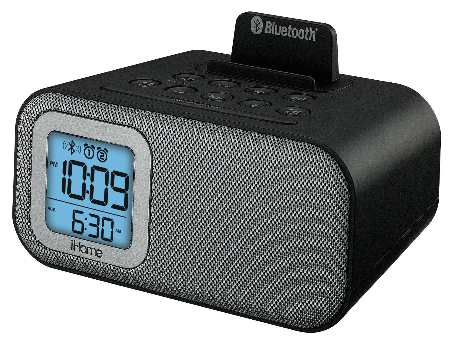 iHome IBT22 Bluetooth Wireless Dual Alarm Clock