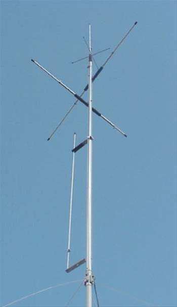 Cushcraft MA6VA Six-Band Restricted-Space Vertical Antenna