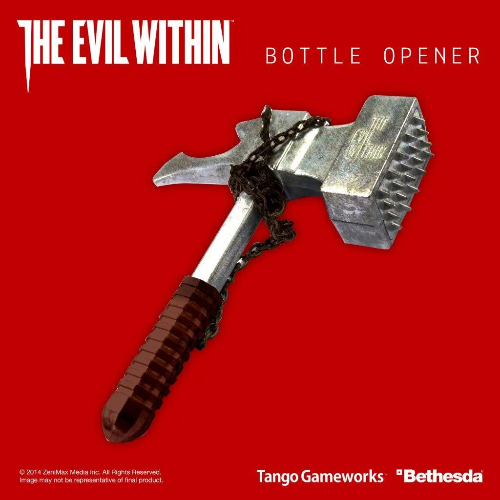 The Evil Within Bottle Opener