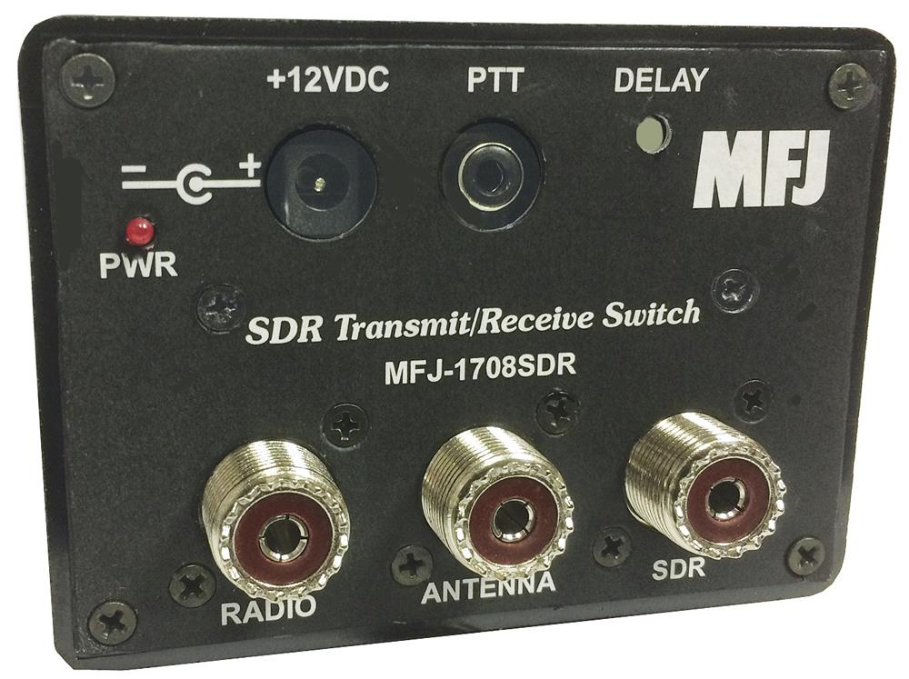 MFJ-1708SDR SDR TRANSMIT/RECEIVE SWITCH