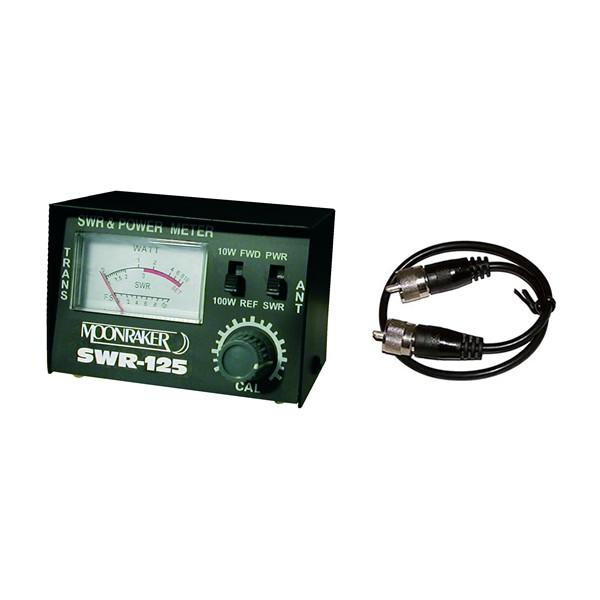SWR-125 SWR/PWR METER PLUS 50CM RG58 PATCH LEAD