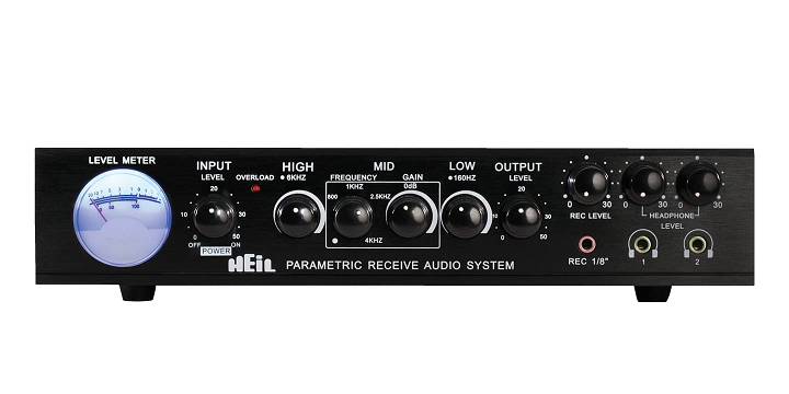 Heil Sound Parametric Receive Audio System Equalizer 1