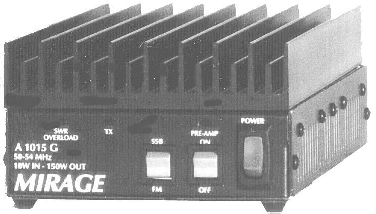 A-1015G Mirage 150W 6m Linear Amplifier