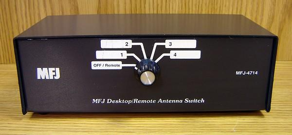 MFJ-4714 Desk / Remote 4 Position Antenna Switch