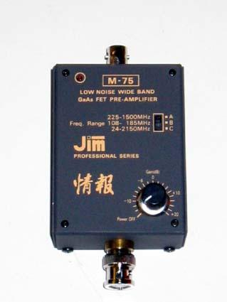 JIM M 75 Scanner preamp