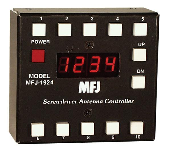 MFJ-1924 - Programmable Screwdriver Antenna Controller