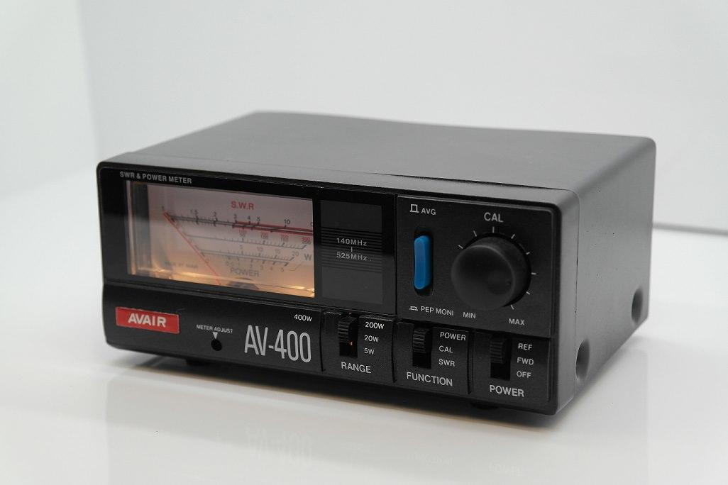 AV-400 AVAIR VSWR POWER Meter 140 - 525MHz