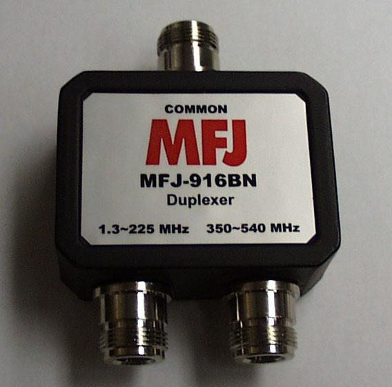 MFJ-916BN - HF to 440 MHz Duplexer w/ Female N Connectors