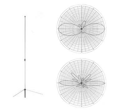 Diamond X-300 | 2m | 70cm | Base | Vertical | Antenna