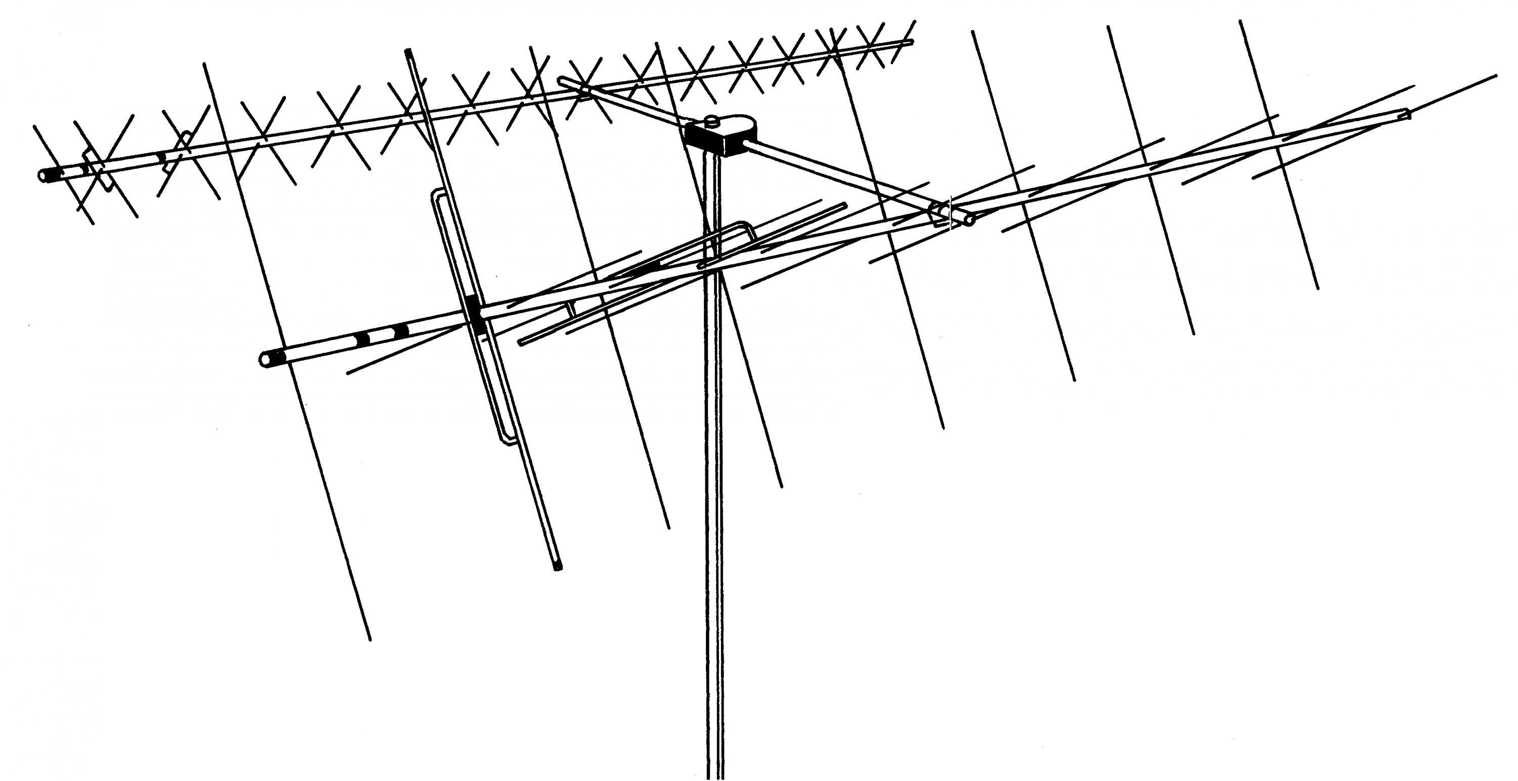 DB-218SAT HYGAIN Complete 2m/70cm Antenna System