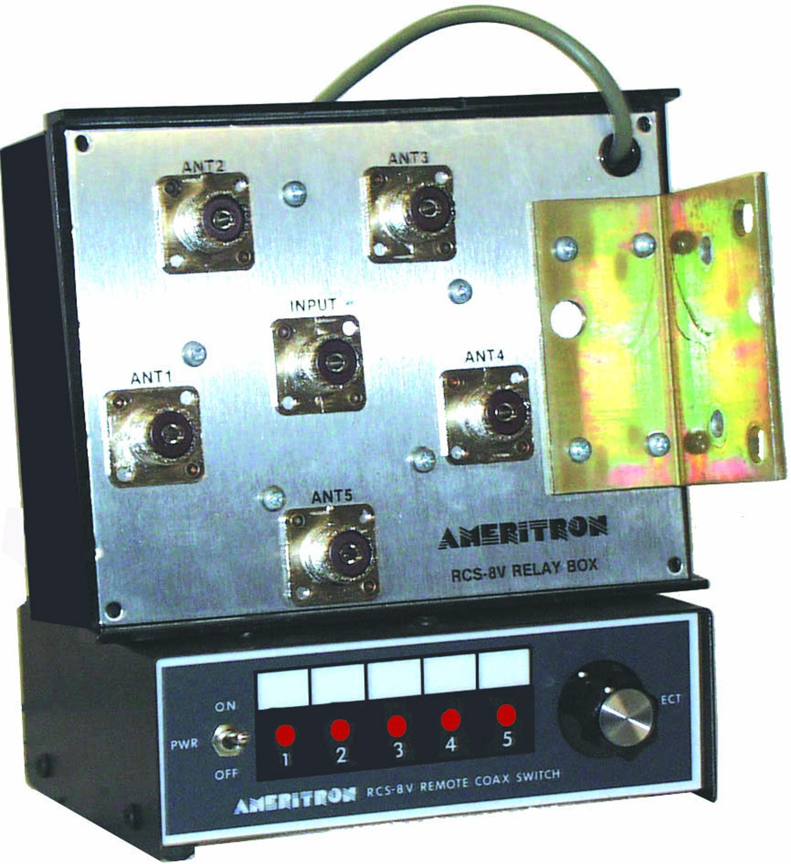 Ameritron 5-way Remote Coax Switch (N-Type) RCS-8VNX