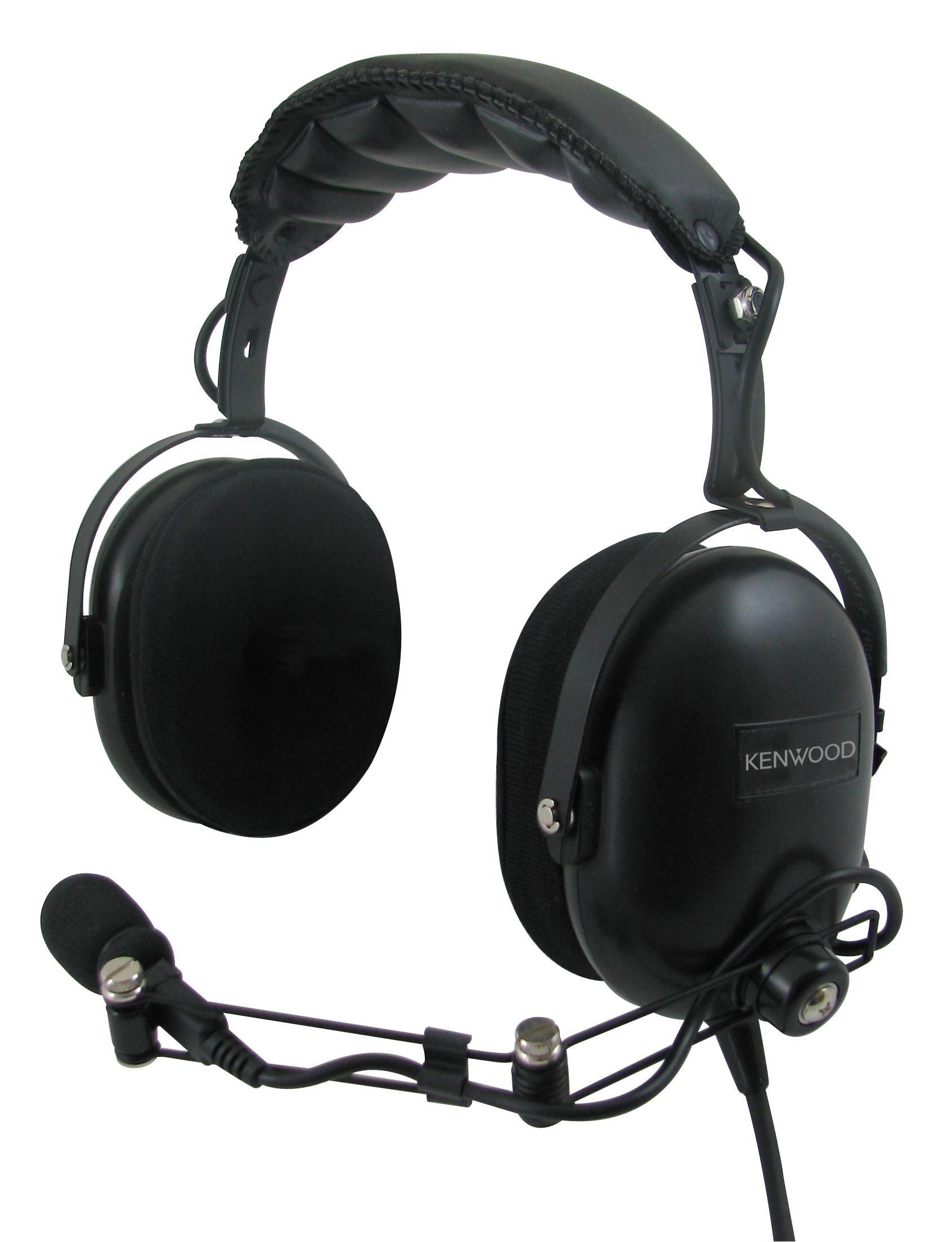 kenwood KHS-10-OH Noise Canceling Headset with Boom Mic