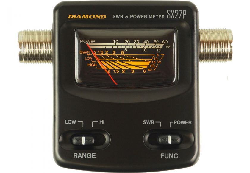 Diamond SX-27P- Small SWR/Power-Meter