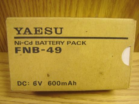 Yaesu FNB-49 Battery pack suitable for FT-50R, FT-10R, FT-40R