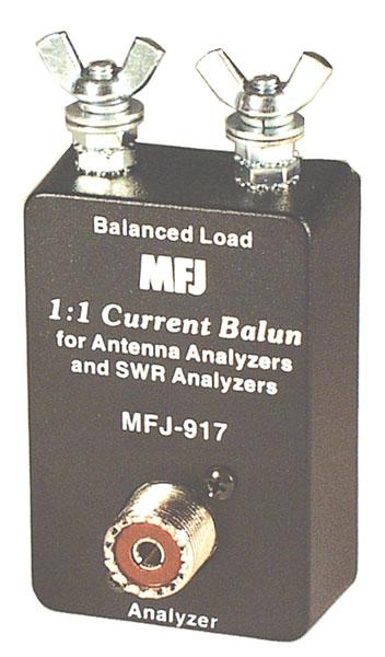 MFJ-917 SWR Analyzer Current Balun