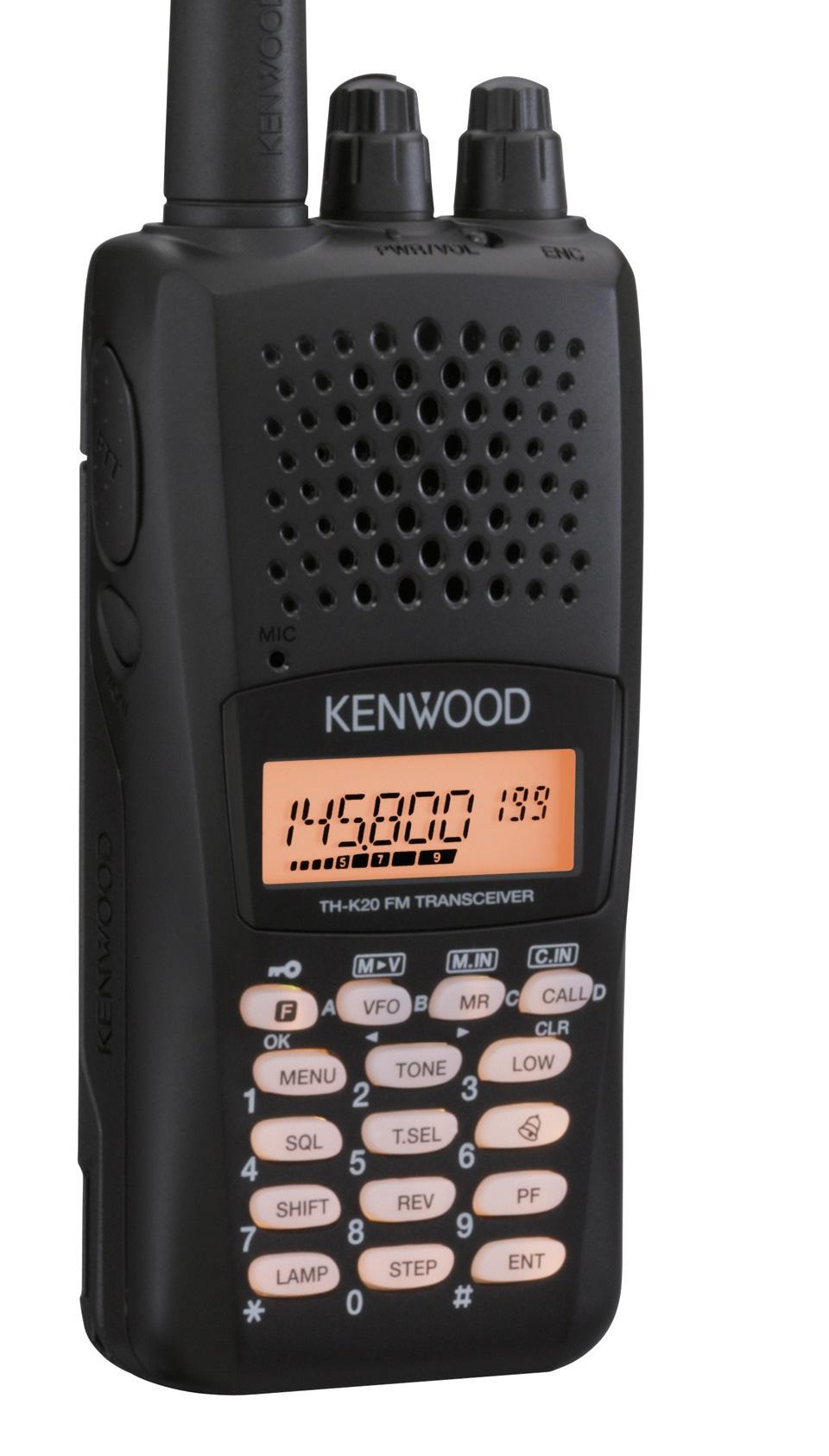 kenwood TH-K20E VHF FM Portable Transceiver with Keypad