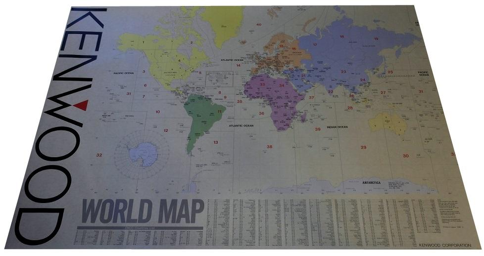 kenwood World Wall locator map