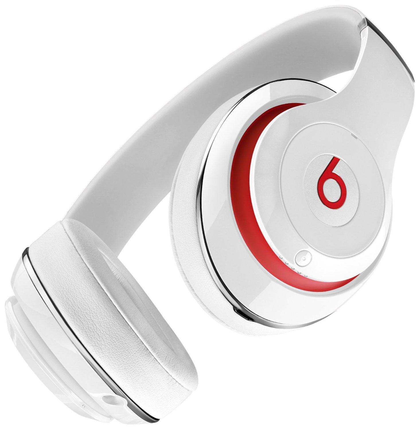 Beats by Dr.Dre Studio Wireless Over-Ear Headphones White s4
