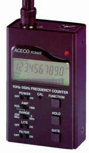 FC-2002 Frequency range 10Hz-3GHz