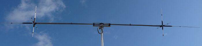 H.F. 6m to 40m dipole inc 17m
