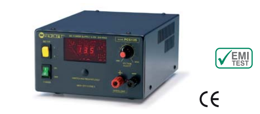 Microset PCS-125 25 Amp Linear Power Supply With Digital Readout