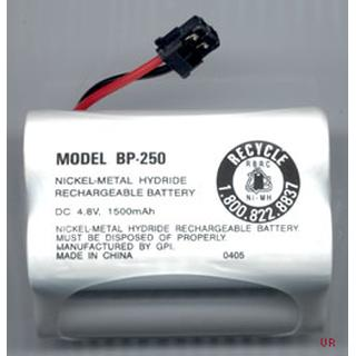 Uniden BP-250 Uniden Battery Pack, NiMH, 4.8 Volt, 1500mAh