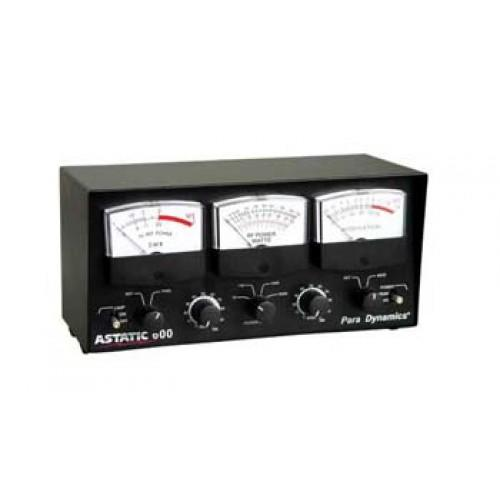 Astatic 600 SWR/Power/Modulation Meter, 5000W, 25-30MHz