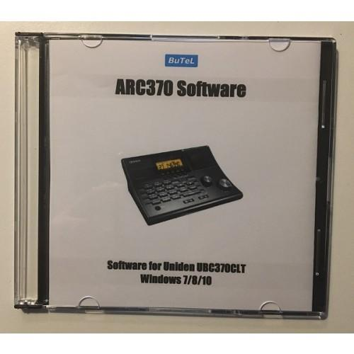 ARC370 Software for Uniden UBC370CLT