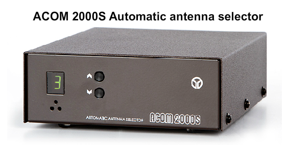 ACOM 2000S Automatic Antenna Selector With Multi Switch