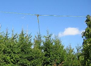 Windom antenna Length 78m, for 160/80/40/20/17/12/10m, 1000 W