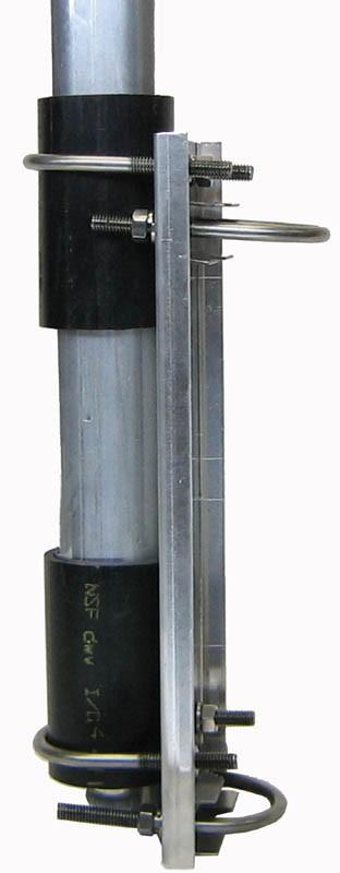 "ATB-65 2"" Vertical Antenna Mast Mount"