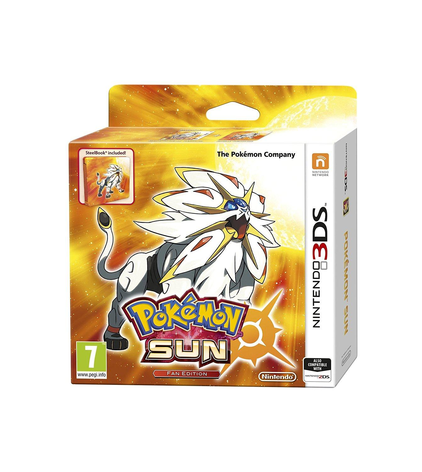 Pokémon Sun Fan Edition Nintendo 3DS