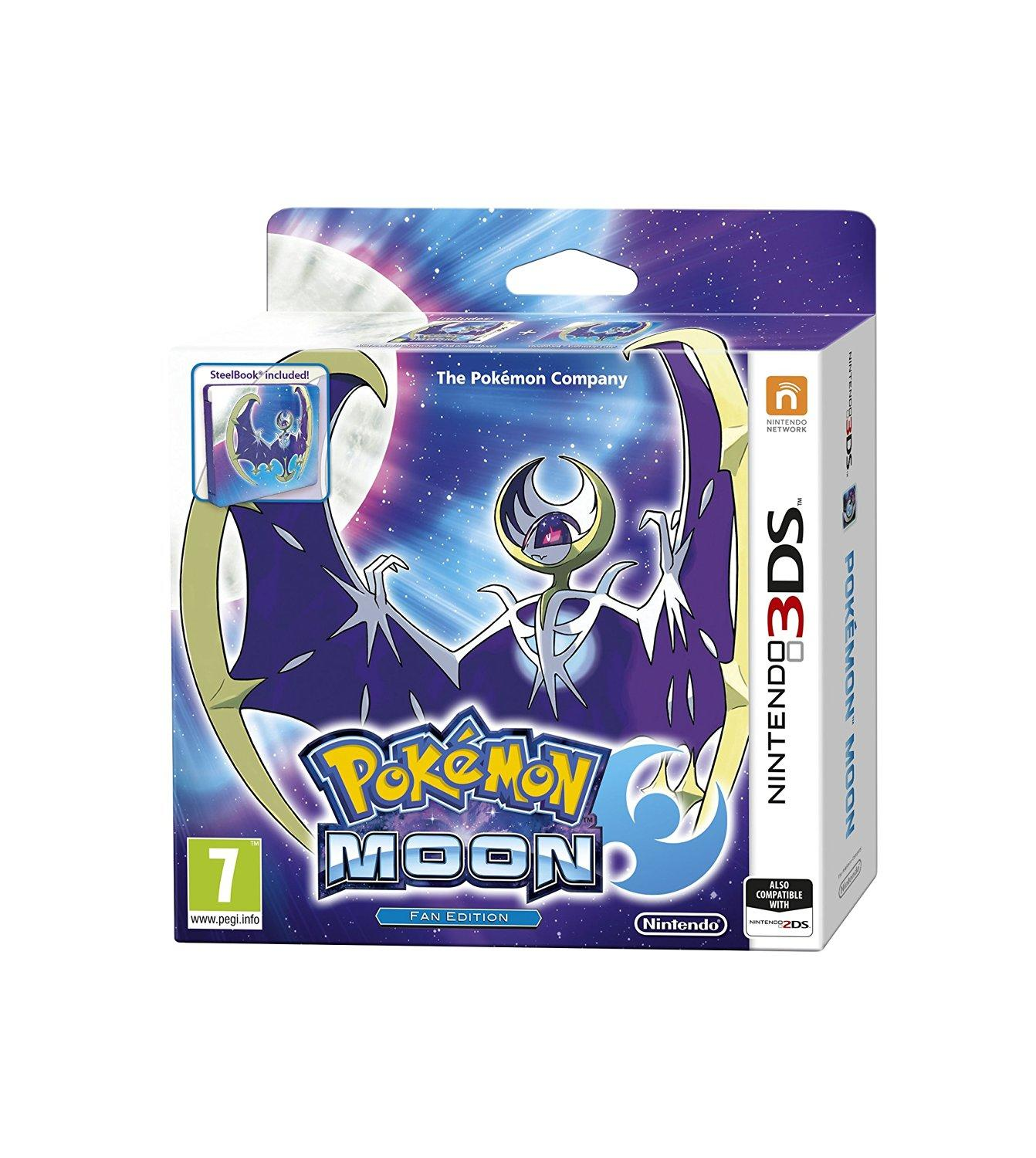 Pokémon Moon Fan Edition Nintendo 3DS