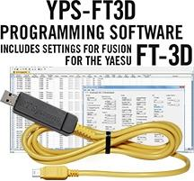 YPS-FT3D-USB Programming software and USB-68 cable for the Yaesu