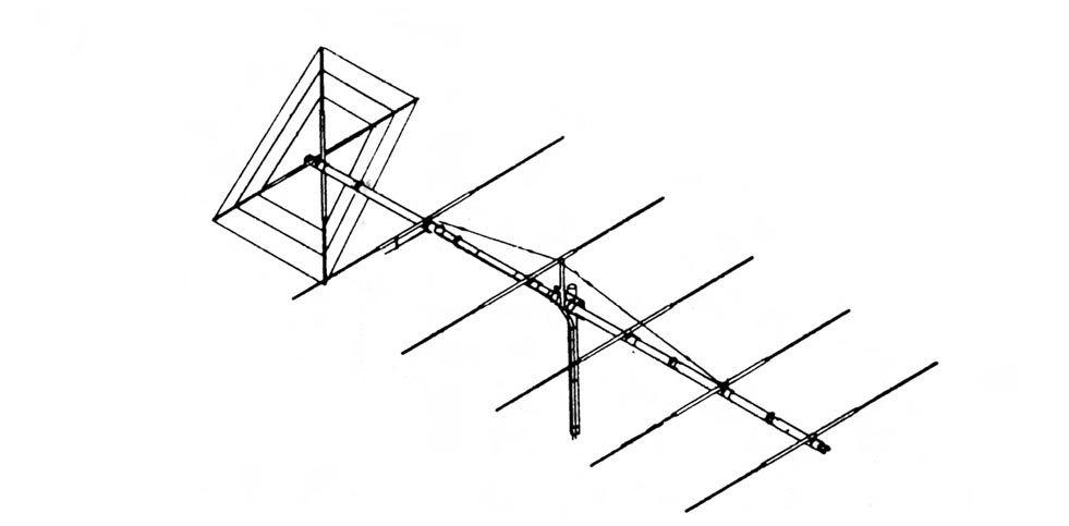 Maco FLAT-6 6-ELEMENT V/H BEAM ANTENNA