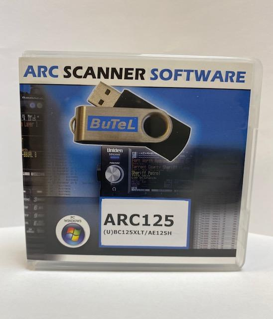 Uniden ARC-125 Programming Software for the UBC-125
