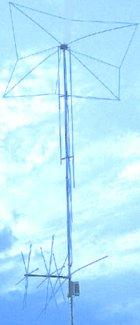MFJ-1798 10-band Vertical all band Antenna