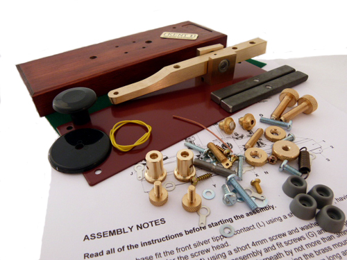 KSKK Kent Standard Brass Straight Morse Key Kit (without Base)