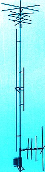 MFJ-1796W WARC-band Vertical Antenna