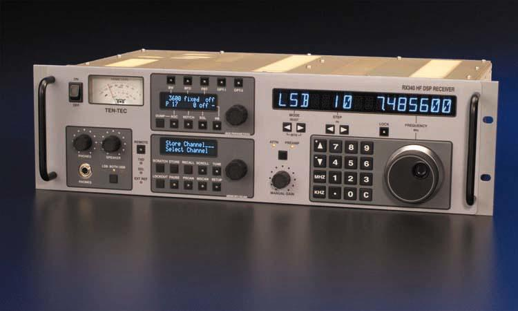 "TenTec RX-340 19"" rack mounted HF DSP receiver"