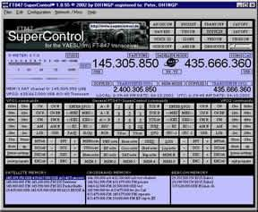 FT847-SuperControl  Full transceiver control
