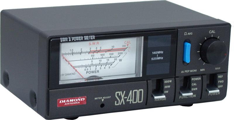 "Diamond Sx 400n 140 525 Mhz 5 20 200 Watts ""n"" Type"