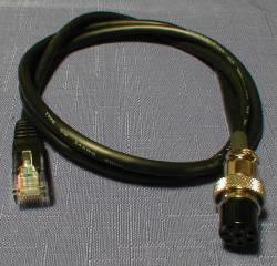 M8/CBL Rigblaster 8 Pin Screw On Custom Mic Cable 3-foot