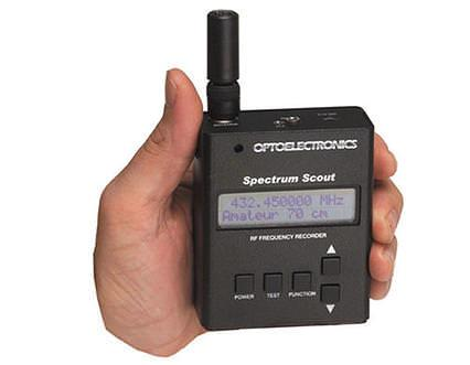 SPECTRUM-SCOUT *Optoelectronics Frequency Finder 10MHz - 2.
