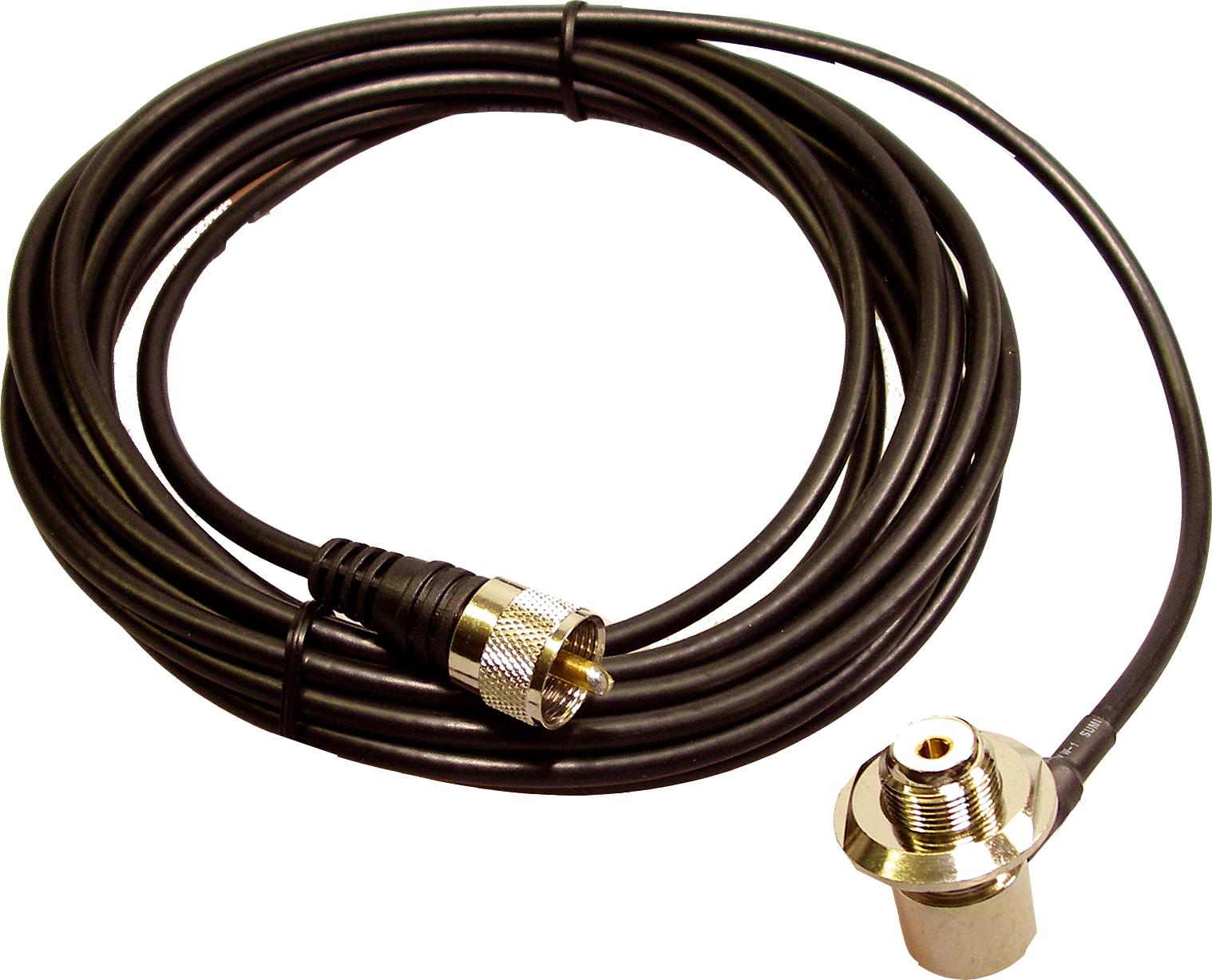 MC-ECH 4M Cable kit SO239 TO PL259